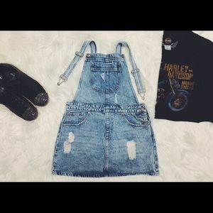 FOREVER 21 Jean Overall Dress